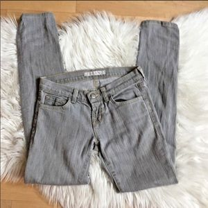 J Brand Jeans - J Brand Low Slim Fit Grey Jean Great Condition